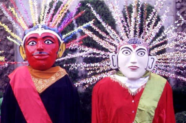 印尼新娘的驅邪避凶七爺八爺